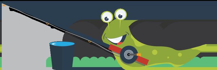 slugdesign slug on fishing